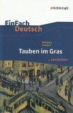 Tauben im Gras. EinFach Deutsch ...verstehen