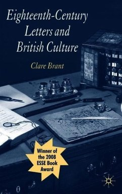 Eighteenth-Century Letters and British Culture - Brant, Clare