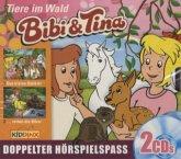 Tiere im Wald / Bibi & Tina Bd.59/61 (2 Audio-CDs)