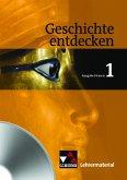 6. Jahrgangsstufe, Lehrermaterial, CD-ROM / Geschichte entdecken, Ausgabe Hessen 1