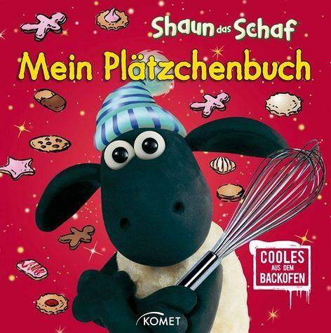 shaun das schaf, mein plätzchenbuch, m. 3 ausstechförmchen von nick park - buch - buecher.de