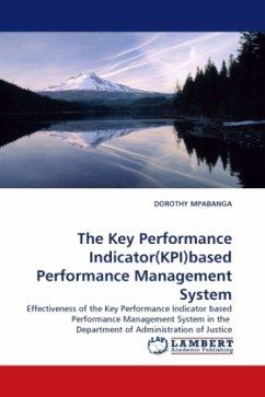 The Key Performance Indicator(KPI)based Performance Management System
