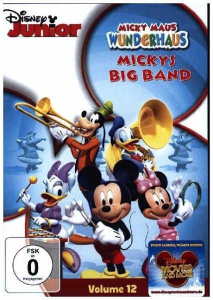 Micky Maus Wunderhaus, Volume 12 - Mickys Big Band