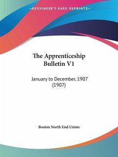 The Apprenticeship Bulletin V1