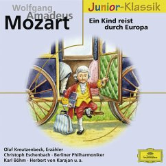Ein Kind reist durch Europa, 1 Audio-CD