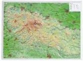 Harz, Reliefkarte
