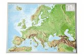 Europa, Reliefkarte, Klein; Europe