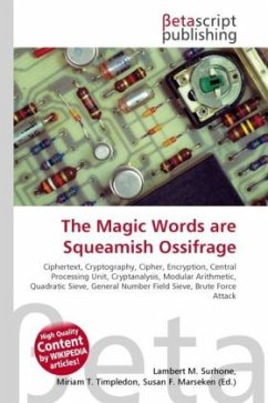 The Magic Words are Squeamish Ossifrage