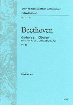 Christus am Ölberg op.85, Klavierauszug - Beethoven, Ludwig van