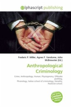 Anthropological Criminology