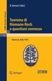 Teorema di Riemann-Roch e questioni connesse