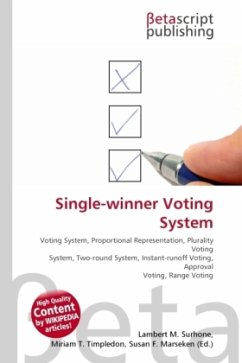 Single-winner Voting System
