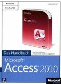 Microsoft Access 2010 - Das Handbuch, m. CD-ROM