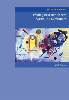 Writing research papers across the curriculum ebook