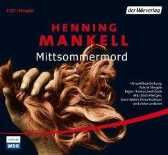 Mittsommermord / Kurt Wallander Bd.8 (2 Audio-CDs) - Mankell, Henning