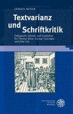 Textvarianz und Schriftkritik