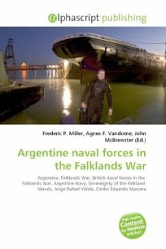 Argentine naval forces in the Falklands War