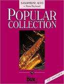 Popular Collection, Saxophone Alto + Piano/Keyboard