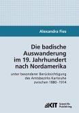 Die badische Auswanderung im 19. Jahrhundert nach Nordamerika unter besonderer Berücksichtigung des Amtsbezirks Karlsruhe zwischen 1880 - 1914