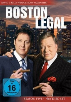 Boston Legal - Season Five (4 Discs)