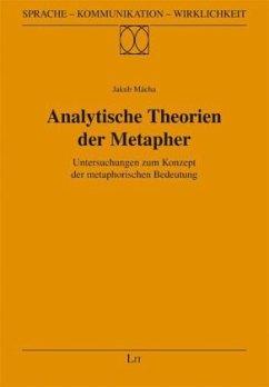 Analytische Theorien der Metapher - Mácha, Jakub