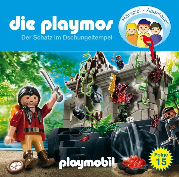 Schatzsuche / Die Playmos Bd.15 (Audio-CD)