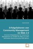 Erfolgsfaktoren von Community Management im Web 2.0