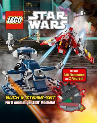 lego star wars buch mit lego steine set buch b. Black Bedroom Furniture Sets. Home Design Ideas