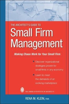 The Architect´s Guide to Small Firm Management