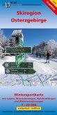 Wintersportkarte Skiregion Osterzgebirge 1:33 000