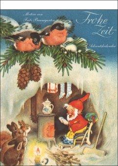 Frohe Zeit. Adventskalender - Baumgarten, Fritz