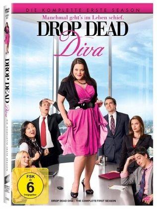 drop dead diva die komplette erste season 3 discs auf. Black Bedroom Furniture Sets. Home Design Ideas