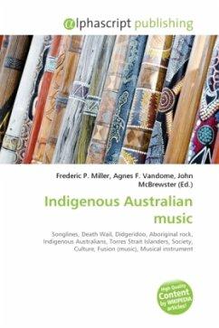 Indigenous Australian music