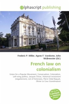French law on colonialism