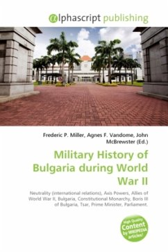 Military History of Bulgaria during World War II