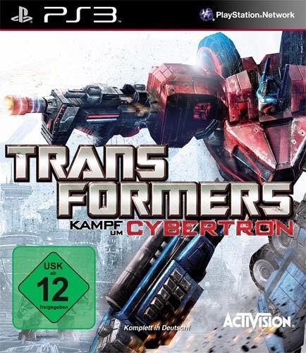 Transformers kampf um cybertron playstation spiel
