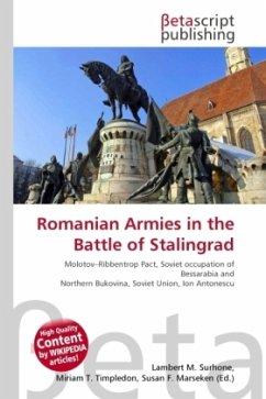Romanian Armies in the Battle of Stalingrad