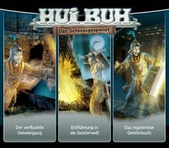 Hui Buh, das Schlossgespenst, neue Welt, 3 Audio-CDs - Alexander-Burgh, Eberhard