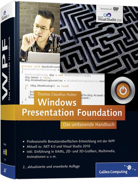 Windows Presentation Foundation - Das umfassende Handbuch (ohne DVD) - Huber, Thomas Claudius