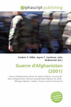 Guerre d'Afghanistan (2001)