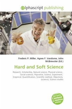 hard science and soft science 11072018 the distinctions between hard and soft sciences are part of our culture  but the important distinction is really not between the hard and the soft sciences.