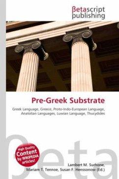 Pre-Greek Substrate