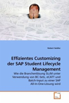 Effizientes Customizing der SAP Student Lifecyc...