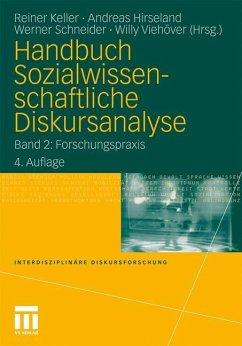 Handbuch Sozialwissenschaftliche Diskursanalyse 2