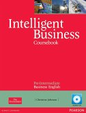 Intelligent Business Pre-intermediate Course Book (with Class Audio CD)
