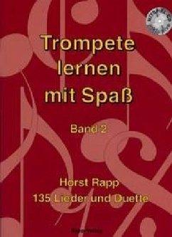 Trompete lernen mit Spaß, m. Audio-CD