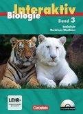 Schülerbuch, m. DVD-ROM / Biologie interaktiv, Ausgabe Realschule Nordrhein-Westfalen Bd.3