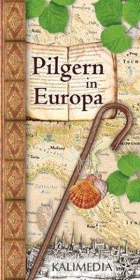 Pilgern in Europa, Übersichtskarte