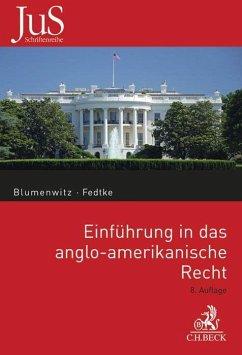 Einführung in das anglo-amerikanische Recht