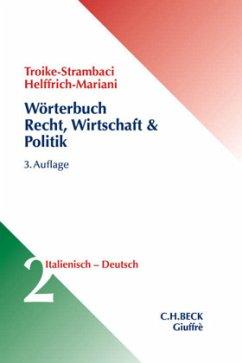 Wörterbuch für Recht, Wirtschaft & Politik Bd. ...